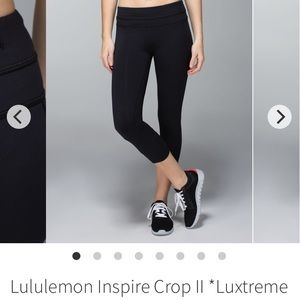 💥SALE TODAY ONLY💥 Lululemon Run Inspire crops